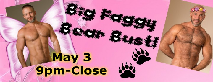 Big Faggy Bear Bust FB Banner
