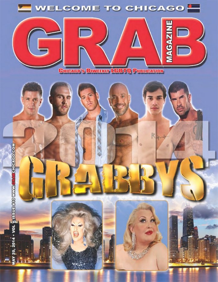 Grab Magazine, IML 2014 Edition (20140520), Cover