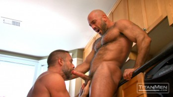TitanMen's Extra Firm with Dirk Caber and Jesse Jackman
