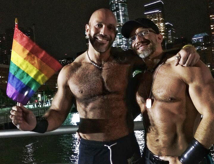 Me and Dirk at NYC Pride in 2015